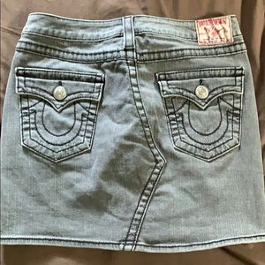 True Religion Women's Jean Skirt